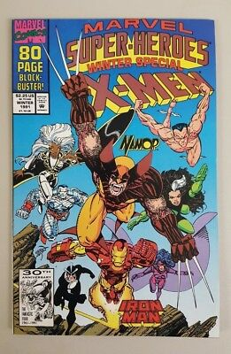 Marvel Super-Heroes1991 Winter Special #8 1st Squirrel Girl Appearance