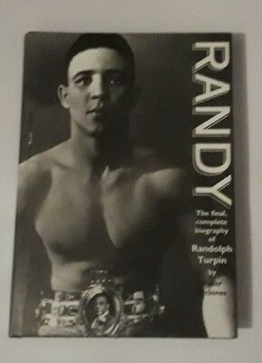 PETER MCINNES RANDY FINAL COMPLETE BIOGRAPHY RANDOLPH TURPIN 1996 BOXING 1st ED