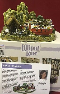 Lilliput Lane House - Push The Boat Out