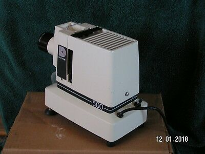 Filmstrip Projector Dukane 500 35mm  Vintage