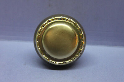 "Antique Vintage Decorative Solid Brass Door Knob for 3/8"" spindle"