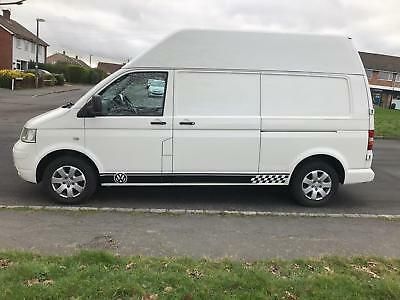 Vw T5 transporter high top rare high roof, **ideal camper conversion**