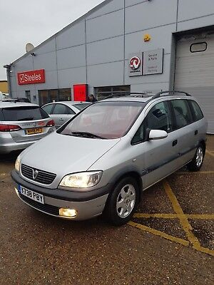 Vauxhall Zafira 1.8 16v ##VERY low milage## Vauxhall technician owned