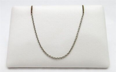 Tiffany & Co. Sterling Silver Thin Cable Link Chain 18""