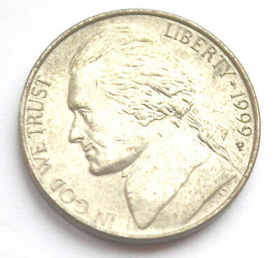 American 5 Cents 1999P