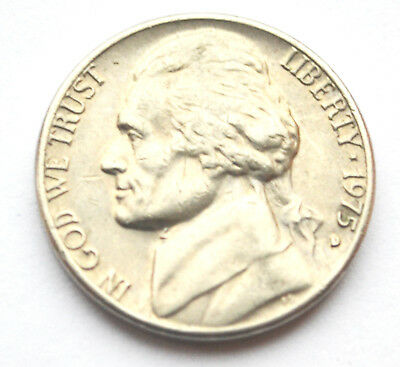 USA America 5 Cents 1975D