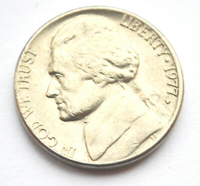 USA America 5 Cents 1977D