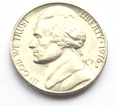 USA America 5 Cents 1976D