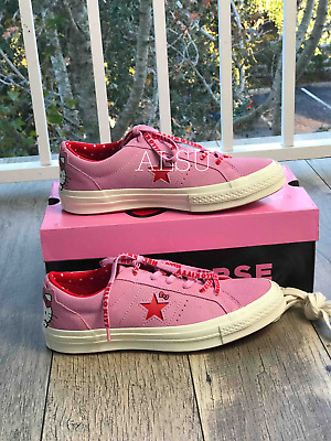 751bc0ba3bc SNEAKERS WOMAN'S CONVERSE & Hello Kitty One Star Suede Black Prism ...