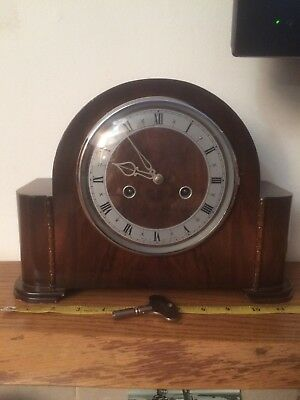 Vintage Art Deco Mantle Clock Smiths Enfield For Repair Refurb Etc