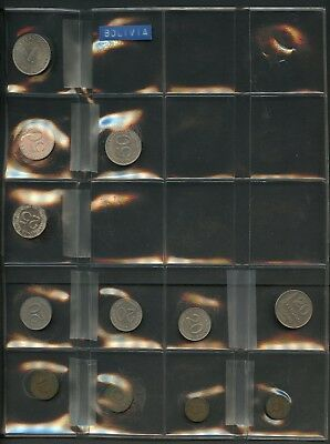 Worldwide Lot Of 72  Assorted Foreign Circulated Coins You Do The Grading