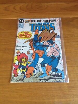 The New Titans 86. Nm Cond. May 1992. Dc.