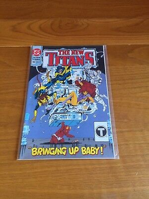 The New Titans 88. Nm- Cond. July 1992. Dc.