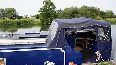 Wide-beam canal boat apartment live aboard or travel STUNNING
