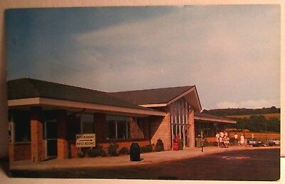Howard Johnson Restaurant New Stanton Pennsylvania Turnpike 1960s