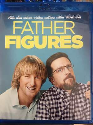 Father Figures Blu-Ray No DVD/Digital/Slip Like New FAST FREE Combine Shipping