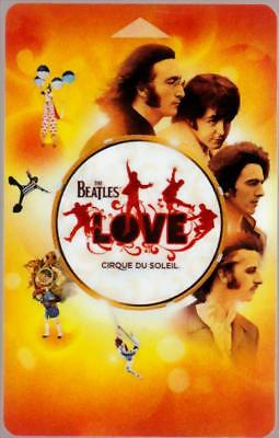 MIRAGE casino*Beatles Love cirque du soleil #p664735*Las Vegas hotel key card
