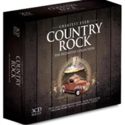 Various Artists-Greatest Ever Country Rock (UK IMPORT) CD / Box Set NEW