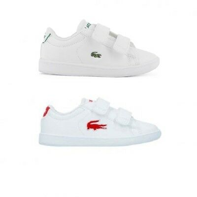 6c234b1bc038d infant kids baby lacoste carnaby evo 318 1 cov spi trainers shoes