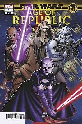 Star Wars Age of Republic Special #1 Marvel Comic 2019 Mike McKone Variant Cover