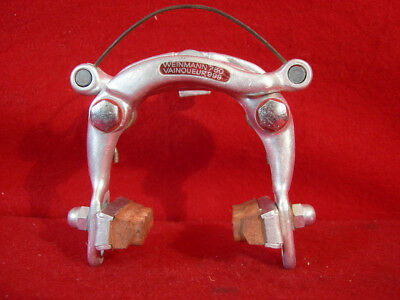 VINTAGE RACE BIKE Weinmann AG Delta BRAKES CLIPS CALIPERS Levers VGC