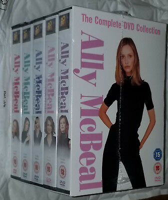 Ally McBeal Complete Collection Series Seasons 1/2/3/4/5 DVD Box Set NEW SEALED