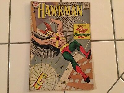 Hawkman #4 (Oct-Nov 1964, DC) First Appearance of Zatanna
