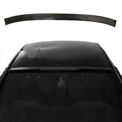 Black Rear Window Top Roof Spoiler Wing Trim For 2015-2017 Ford Mustang S550 GT