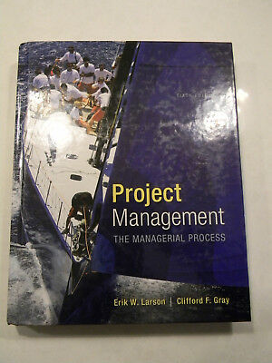 Project Management--The Managerial Process  with enclosed Disk