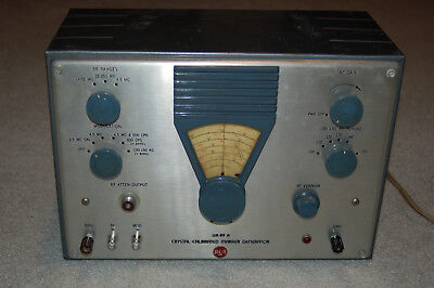 Working RCA WR-89A Crystal-Calibrated Marker Generator