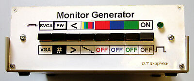 Monitor Display Tester Home Made Project for Enthusiastic person