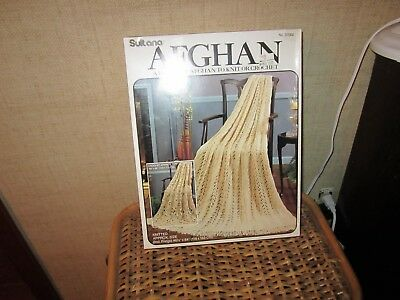 New Sultana Afghan Kit To Knit Or Crochet
