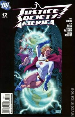 Justice Society of America (3rd Series) #17B 2008 VF Stock Image