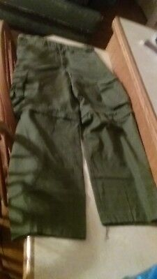 Boy Scouts of America BSA Uniform Cargo Convertible Shorts Size Youth 14