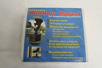 Panavise 809 Window Mount - Cctv - Surveillance - Camera - Automobile - Security