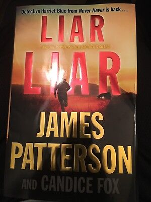 Liar Liar (Harriet Blue) By James Patterson (2019, Hardcover)Brand New Free Ship