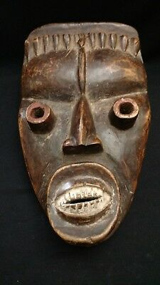 Authentic-Old Dan Mask from Ivory coast Liberia