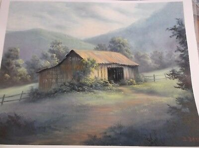**2** painting pattern packets BARN BY CHERI ROL AND  DOROTHY DENT