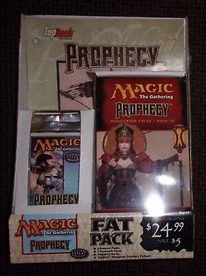 FACTORY SEALED Magic The Gathering PROPHECY Fat-Pack 6-Boosters 2-Premium Novel+