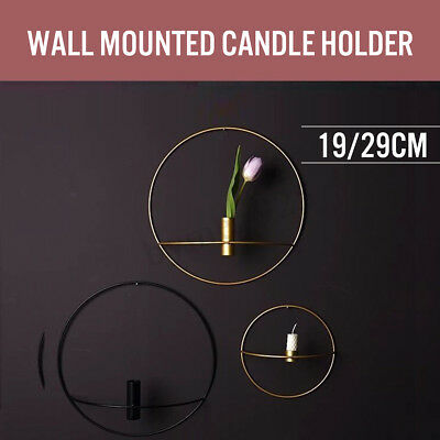 3D Wall Candle Holder Geometric Tea Light Nordic Style Home Decor Candlestick 1