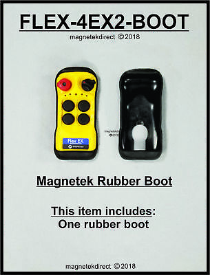 Magnetek Rubber Boot -for Flex-4EX2-Boot 4 Button Transmitter p/n Flex-4EX2-Boot