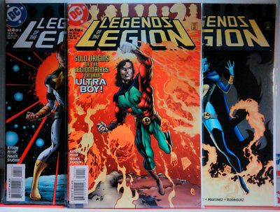 LEGENDS OF THE LEGION (1998) #1 2 3 4 VF+ SECRET FILES Legion of Super-Heroes