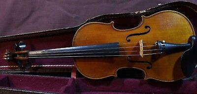 A Stunning old French violin Georges Chanot 1893
