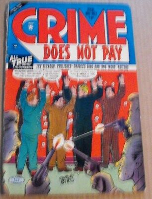 Crime Does Not Pay - Feb 1951 - No. 107  - 1951 Lev Gleason Comic