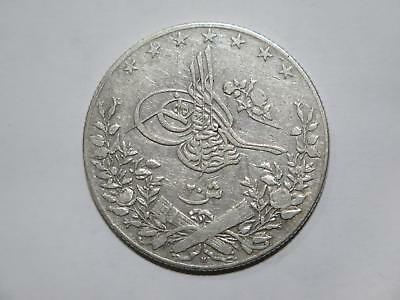 Egypt Ottoman Empire 20 Qirsh Ah1293 /33 Km#296 Old World Coin Collection Lot