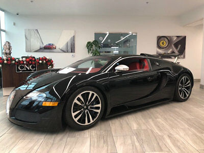 2010 Bugatti Veyron Sang Noir 2010 Bugatti Veyron Sang Noir Exposed Carbon Fiber Special Ownership Rare1 of 1