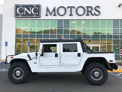 2006 HUMMER H1 Alpha 2006 HUMMER H1 Alpha in Bright White Only 14,357 Miles CNC Motors Upland CA