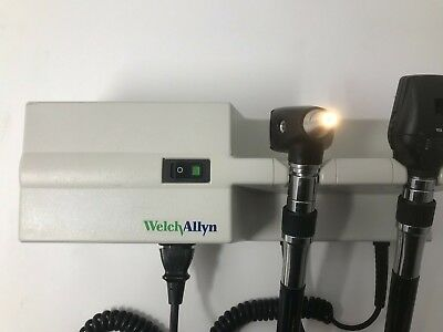 Welch Allyn Otoscope Transformer Set With Handles & Heads 767 Series