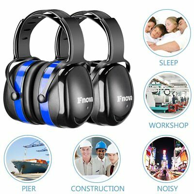 ABS Adjustable Ear Defenders 34dB Highest NRR Safety Ear Muffs Hearing Protector