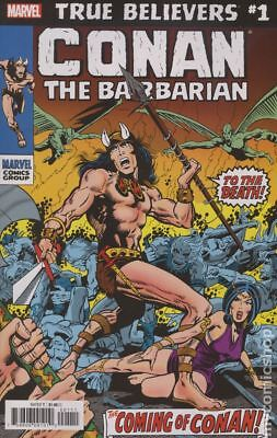 True Believers Conan The Barbarian #1 2019 NM Stock Image